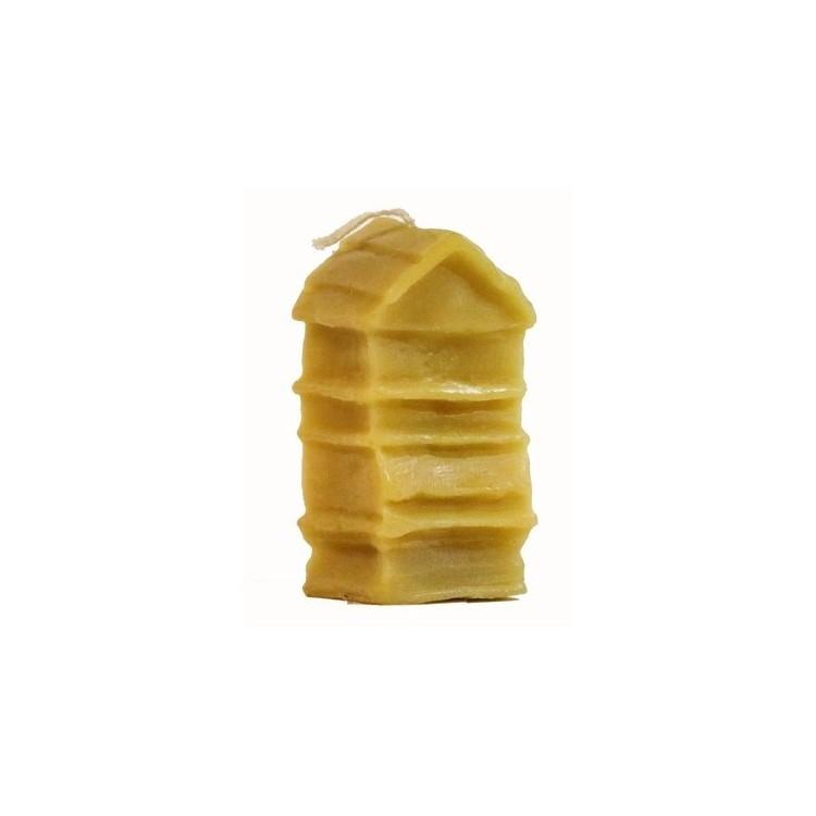 Bougie ruche traditionnelle à la cire d'abeille