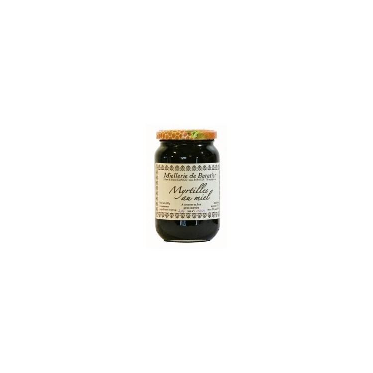 Confiture de myrtilles au miel