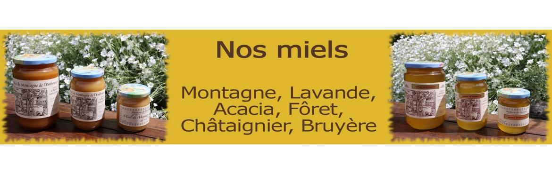 Miel - Achat / Vente de miel de montagne, d'acacia, lavande - Guasco